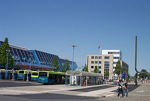 Lelystad Centrum railway station - Image: Lelystad Railway Bus Station