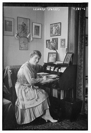 Leonora Sparkes - Sparkes in 1917