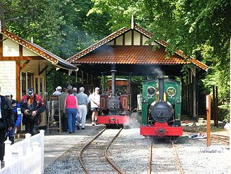 Isle of Man Steam Railway Supporters' Association - Groudle Glen Railway (2009)