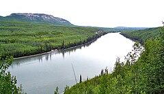 Река лиард в района на градчето лиард