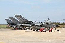 Tornado del 50º Stormo schierati a Trapani Birgi nel 2011 durante l'Operazione Unified Protector