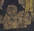 Lion detail, Bodhisattva Ksitigarbha and Ten Kings of Hell. 10 century. British Museum, London (cropped).jpg