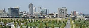 Skyline von Little Rock