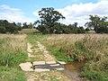 Little stream crossing footpath - geograph.org.uk - 548948.jpg