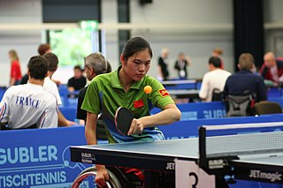 Liu Jing (table tennis) Chinese Paralympic table tennis player