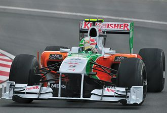 2010 Canadian Grand Prix - Vitantonio Liuzzi started the race from a career best fifth position.