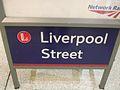 Liverpool Street stn information board signage.JPG
