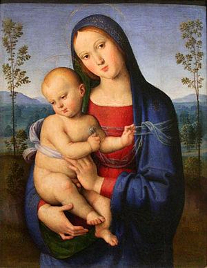 Lo Spagna - Image: Lo Spagna Vierge à l'Enfant