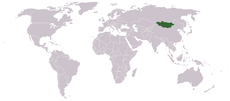 Location of موغولئون