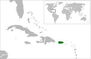 Chinese immigration to Puerto Rico - Image: Location Puerto Rico