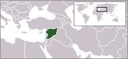 Localisation duSyrie