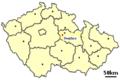 Location of Czech village Svojšice.PNG