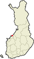 Location of Kokkola in Finland.png