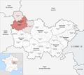Locator map of Arrondissement Auxerre 2017.png