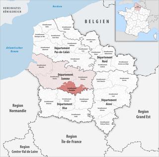 Arrondissement of Montdidier Arrondissement in Hauts-de-France, France