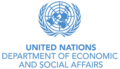 Logo for the United Nations Department of Economic and Social Affairs.png
