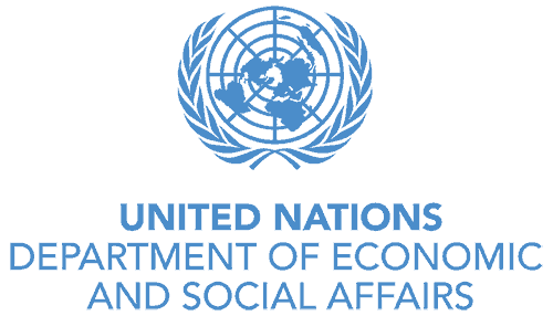 Logo for the United Nations Department of Economic and Social Affairs