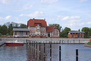Loitz Place in Mecklenburg-Vorpommern, Germany