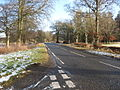 Looking along the A697 as it heads towards Greenlaw - geograph.org.uk - 1131999.jpg