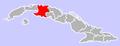 Los Arabos, Cuba Location.png