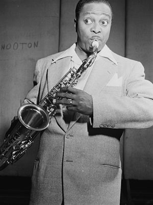 Louis Jordan - Jordan in New York, July 1946, shortly after getting second billing to Glen Gray at the Paramount