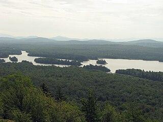 Lows Lake (New York) lake in Adirondack Park, NY, USA