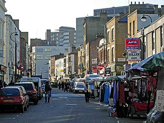 Lower Marsh - Image: Lower Marsh, Waterloo geograph.org.uk 271695