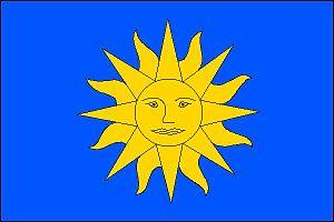 Luboměř - Image: Luboměř flag