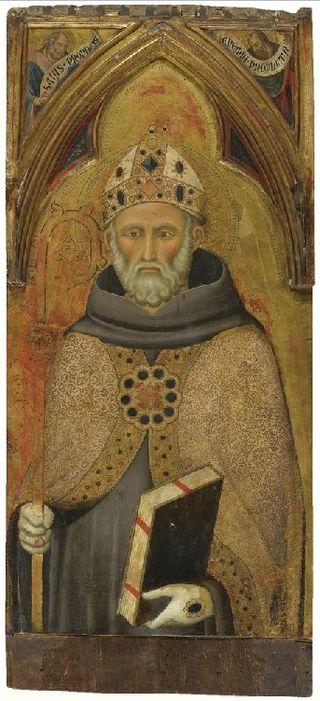 Luca di Tommè - St. Bernard degli Uberti.jpg