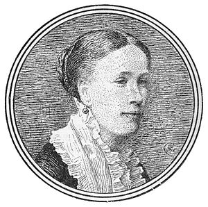 Lucy Crane - Lucy Crane portrait by her brother Walter Crane