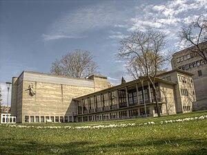 1941 in architecture - Image: Lugano Biblioteca cantonale