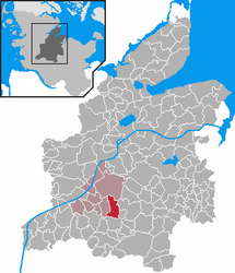 Luhnstedt – Mappa