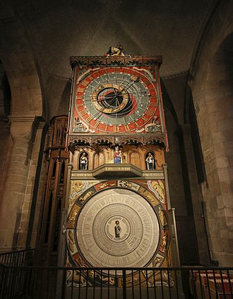 Lund Cathedral - The astronomical clock.