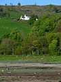 Lunderston Cottage from Lunderston Bay - geograph.org.uk - 2384668.jpg