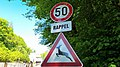 Luxembourg road sign C,14 & A,14.jpg