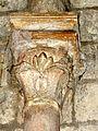 Luzarches (95), église Saint-Côme-Saint-Damien, absidiole, chapiteau SSE.JPG