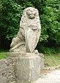 Lwów - now Lviv - Lew z Cmentarza Orląt Lwowskich spod Panteonu Chwały, wyrzucony przez miejskie władze poza miasto - panoramio.jpg