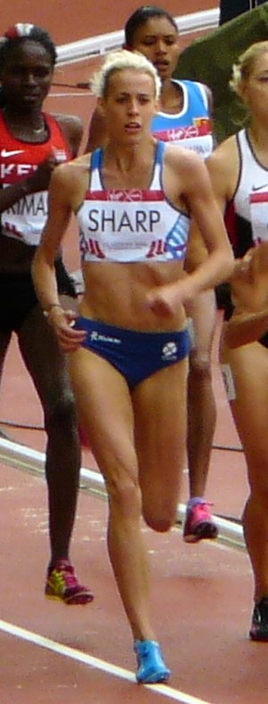 Lynsey Sharp - Lynsey Sharp competing at the 2014 Commonwealth Games