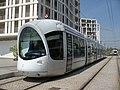 Lyon TCL Alstom Citadis n°0864 T4 Jet d'Eau Mendès France.JPG