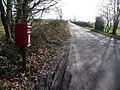 Lytchett Matravers, postbox No. BH16 135, Huntick Road - geograph.org.uk - 1122773.jpg