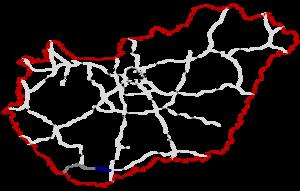 M60 motorway (Hungary) - Image: M60 Autópálya Hungary