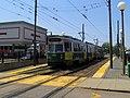 MBTA 3664 at Cleveland Circle (2), May 2016.JPG