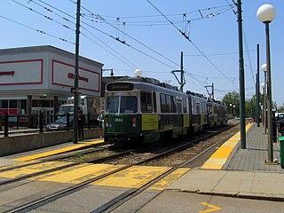 Cleveland Circle station MBTA subway station