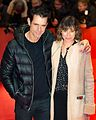 MJK30939 Tom Tykwer and Marie Steinmann (Berlinale 2017).jpg