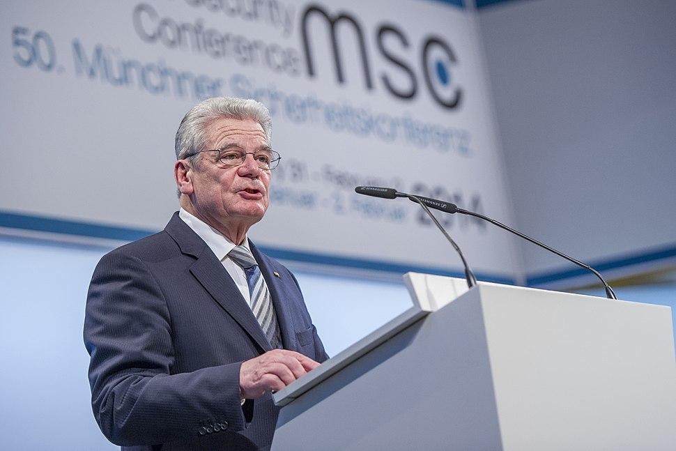 MSC 2014 Gauck Mueller MSC2014