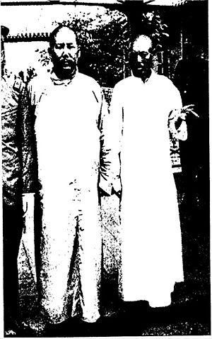 Ma Fuxiang - Ma Fuxiang and Gen. Wu Peifu
