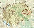 Macedonia relief Platchkovitsa location map.jpg