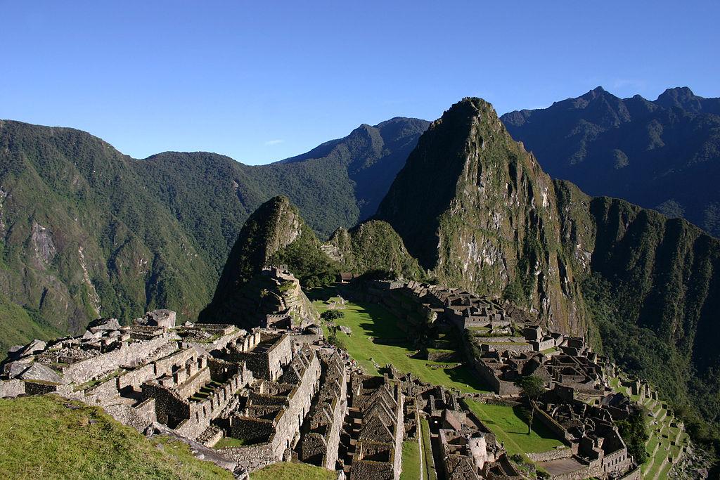 Machu Picchu skoro ráno bez turistov