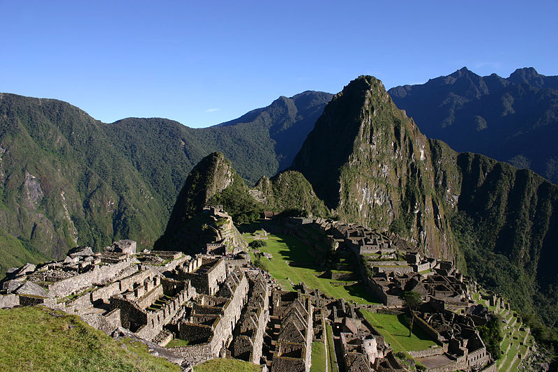File:Machu Picchu early morning.JPG