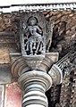 Madanikas below the eaves Chennakeshava temple, Belur(2).jpg